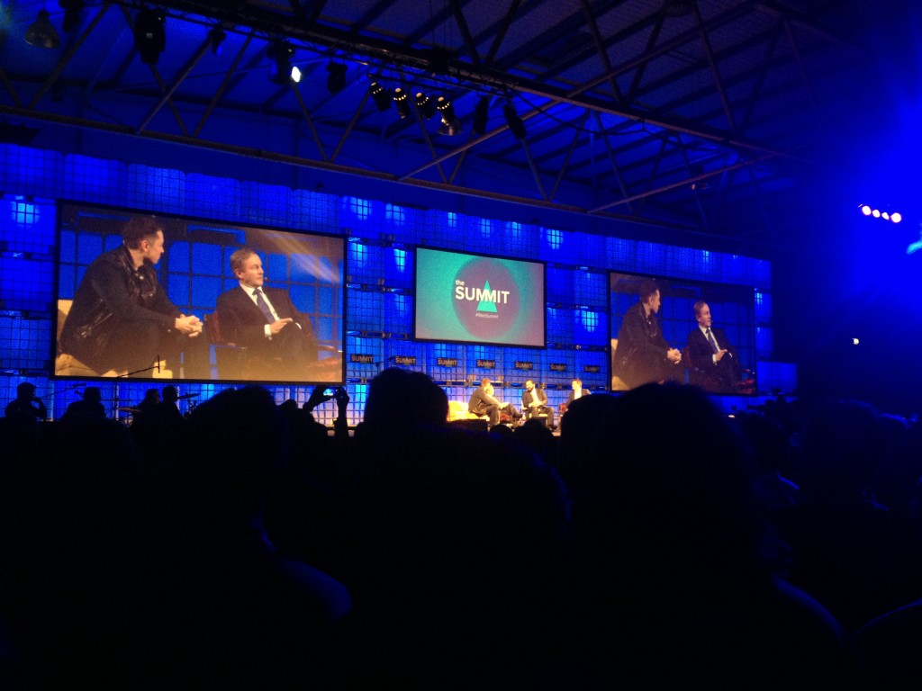 Elon Musk på Web Summit