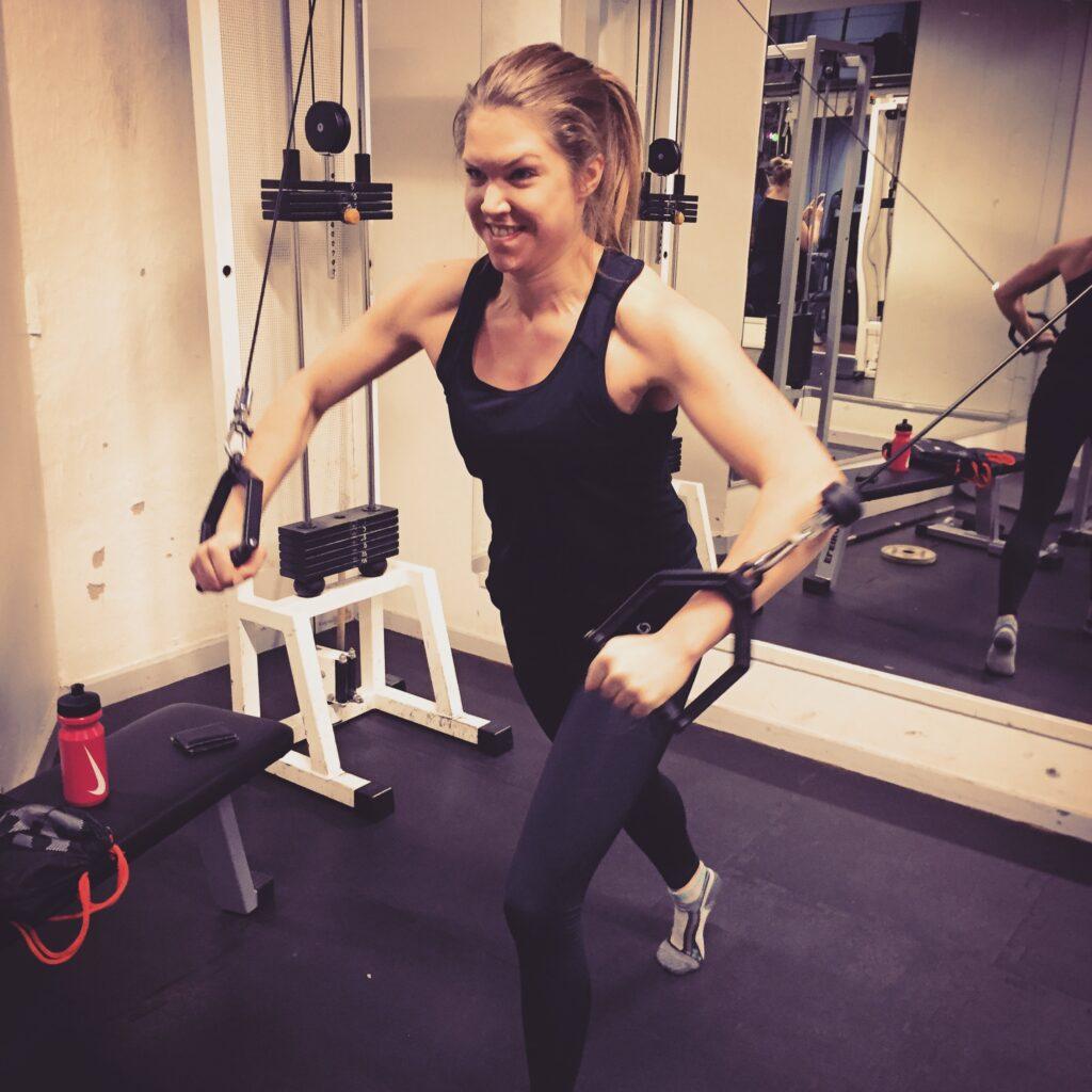 Saras workout nystart