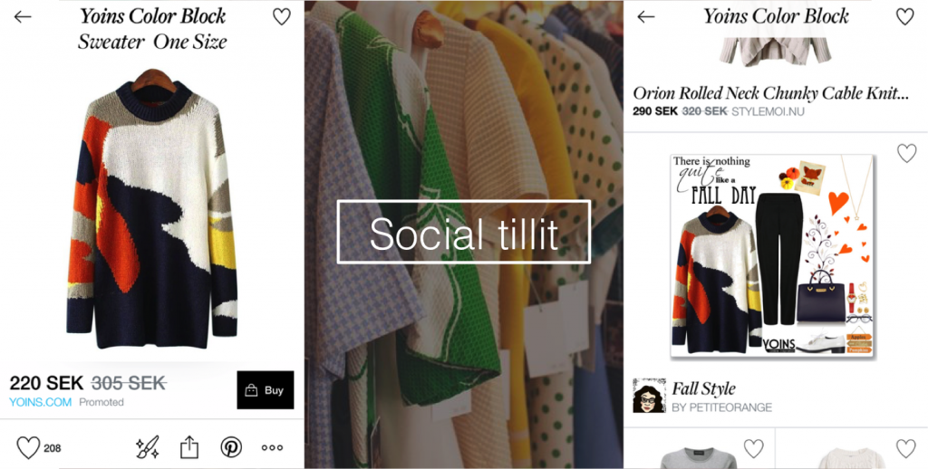 social shopping polyvore